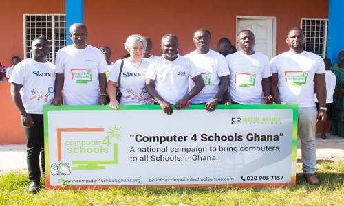 LAUNCHING THE COMPUTERS FOR SCHOOLS GHANA CAMPAIGN!