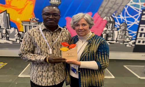 MAXIM NYANSA WINS 2019 FIRE AFRICA AWARD